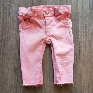 🎀3/$12🎀 Baby Girl Clothes| 3mo Pink Denim Pants